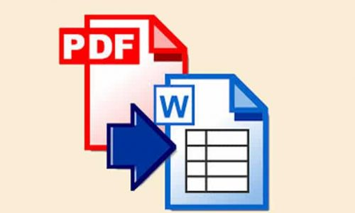 Comment convertir PDF en Word ?
