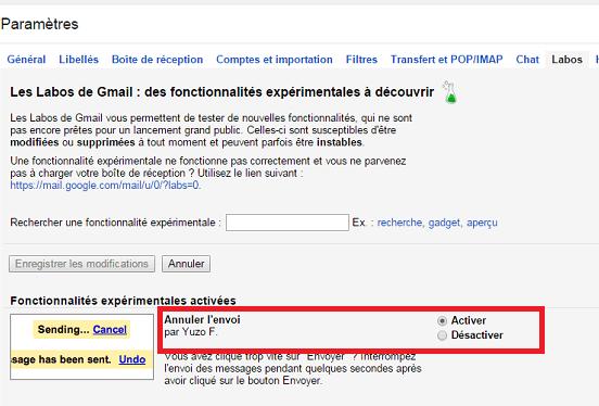 Gmail-Labos