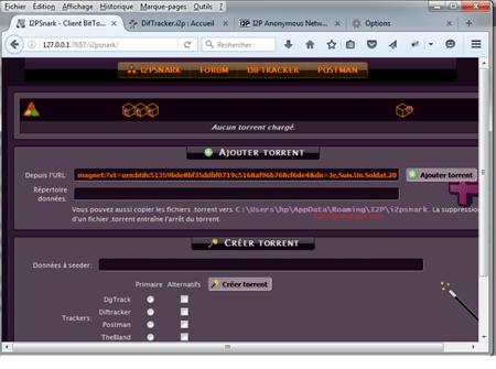 interface-i2pSnark