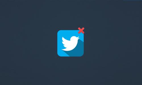 Comment supprimer mon compte Twitter ?