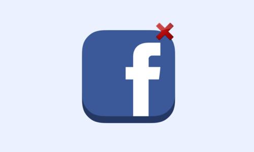 Je veux supprimer définitivement mon compte Facebook
