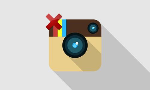 Supprimer définitivement son compte Instagram