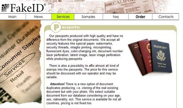 Dans le darknet, un faux passeport français coûte 1.500 euros