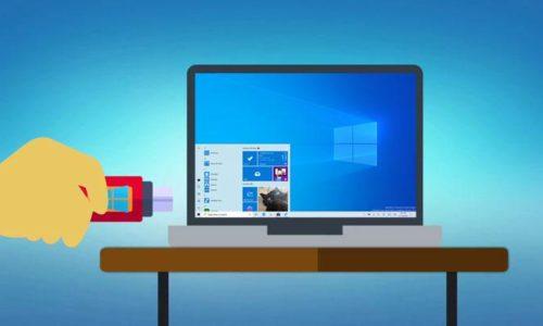 Mettre Windows 10 sur clé USB